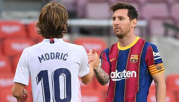 Real Madrid y Barcelona volverán a enfrentarse en abril por LaLiga. (Foto: AFP)