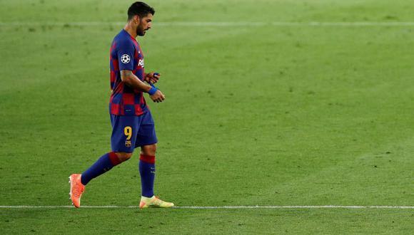 Luis Suárez tendría ya un acuerdo de palabra con el Atlético de Madrid. (Foto: Reuters)
