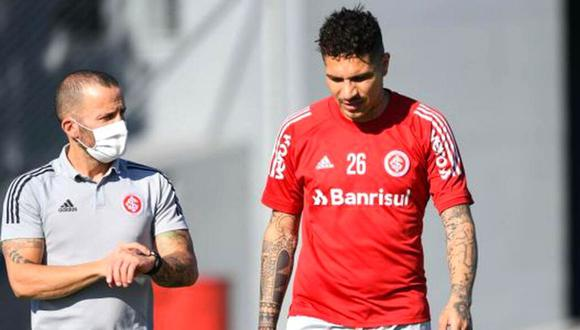 Paolo Guerrero esperará para debutar con Internacional. (Foto: @SCinternacional)