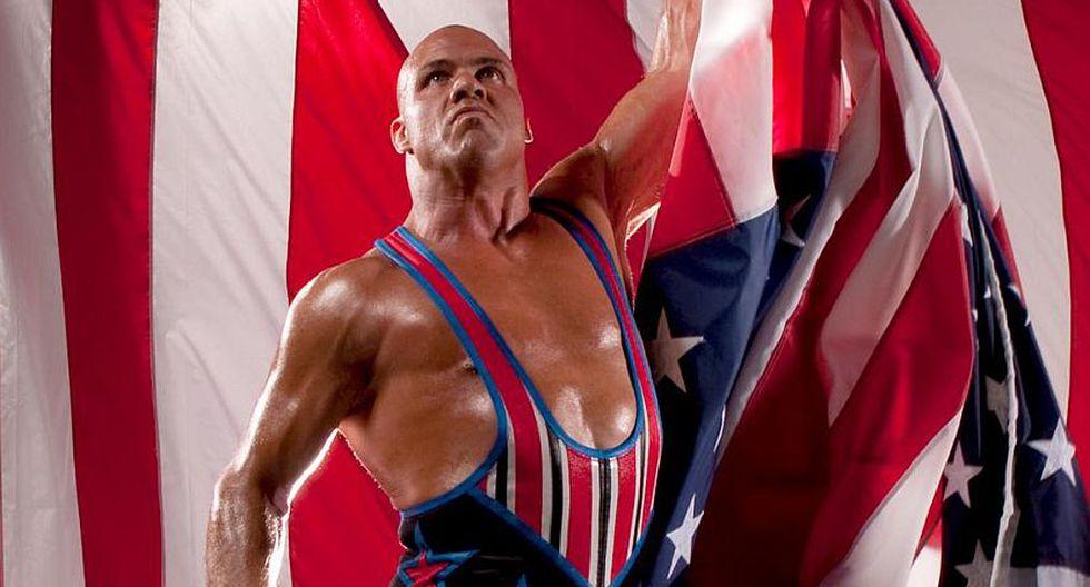 Kurt Angle fue llamado de emergencia tras la baja de Roman Reigns. (WWE)