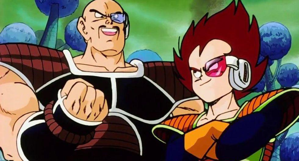 """Dragon Ball: dibujo muestra cómo Nappa vio su propia muerte en la saga """"Dragon Ball Z"""" (TOEI)"""