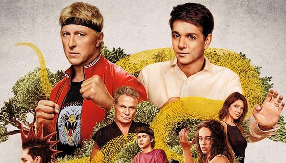 """""""Cobra Kai"""", protagonizada por William Zapka y Ralph Macchio, fue nominada a un premio Emmy en la categoría a mejor serie de comedia. (Foto: Netflix)"""