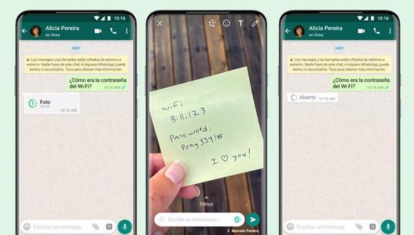 Los usuarios de WhatsApp que hayan actualizado a la última versión de la aplicación podrán disfrutar de ella, pero hay ciertos riesgos. (Foto: @whatsapp / Instagram)