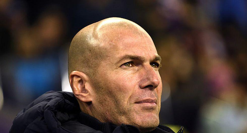 Zinedine Zidane dirige su segunda etapa como técnico del Real Madrid. (Foto: Getty Images)
