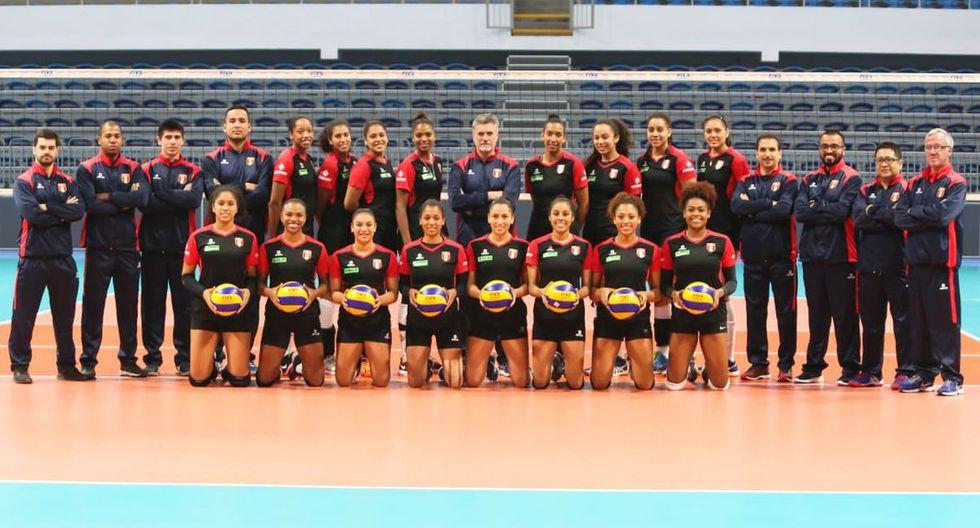 La selección peruana de vóley buscará su cupo a Tokio 2020 en el Torneo Preolímpico de Colombia. (Foto: FPV)