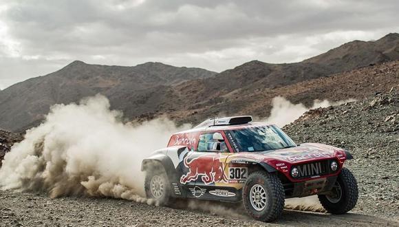 En este Dakar 2020, Stéphane Peterhansel maneja su camioneta junto a su copiloto el portugués Paulo Fiuza. (Foto: Rally Dakar 2020)
