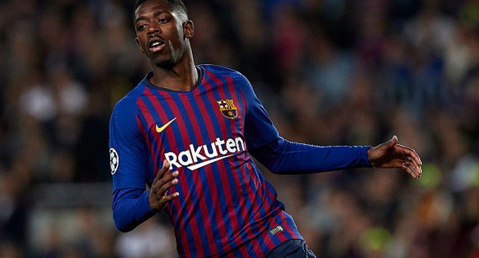 Ousmane Dembele llegó al FC Barcelona en 2017 desde el Borussia Dortmund. (Getty)