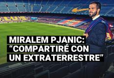 Miralem Pjanic y sus expectativas al jugar con Lionel Messi en Barcelona