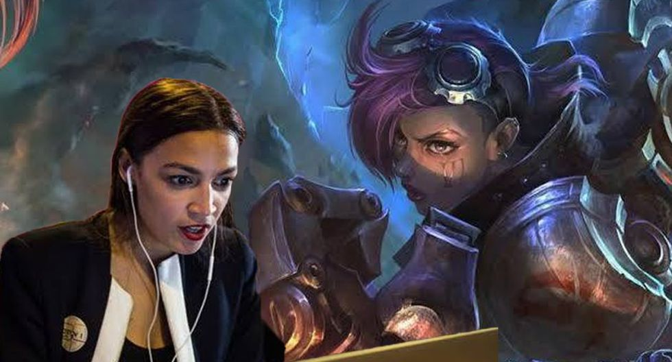 League of Legends: Senadora norteamericana alcanzó el nivel plata. (Foto: Montaje)