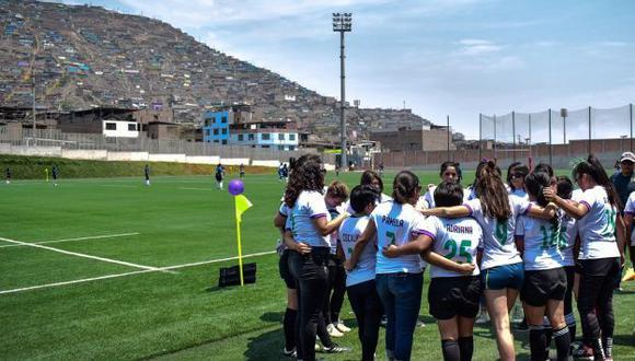 Hay un total 197 rugbiers mujeres en el Perú. (Foto: Óscar Nicolas Castillo)