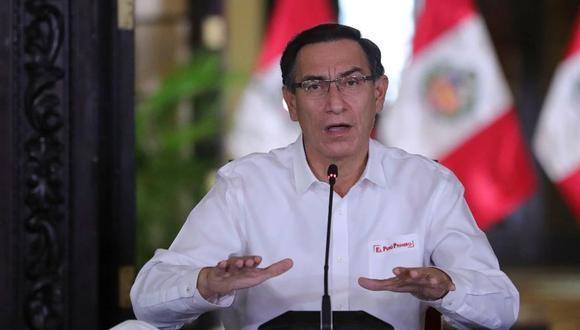El mandatario Martín Vizcarra habló sobre las dificultades del Bono Universal.
