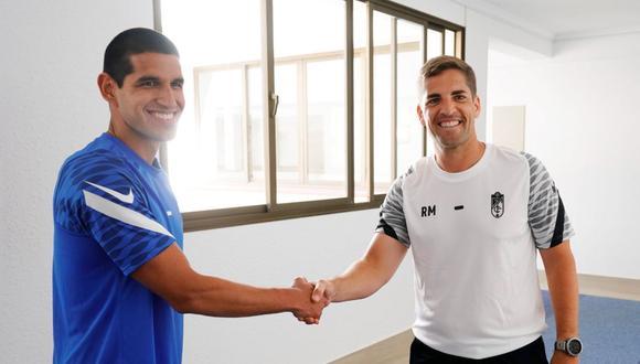Robert Moreno fue entrenador del AS Mónaco antes de fichar por el Granada. (Foto: @GranadaCdeF)