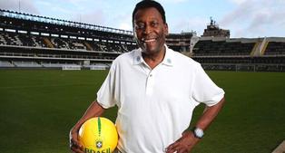 Confinado por la pandemia, Pelé celebra sus 80 años