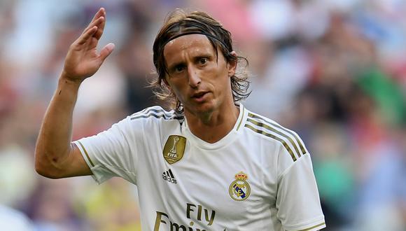Luka Modric lamentó el empate del Real Madrid vs Sevilla pero aseguró que siguen vivos. (Foto: AFP)