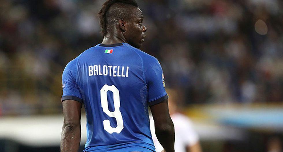 Jugador: Mario Balotelli / Club: Niza. (Getty)