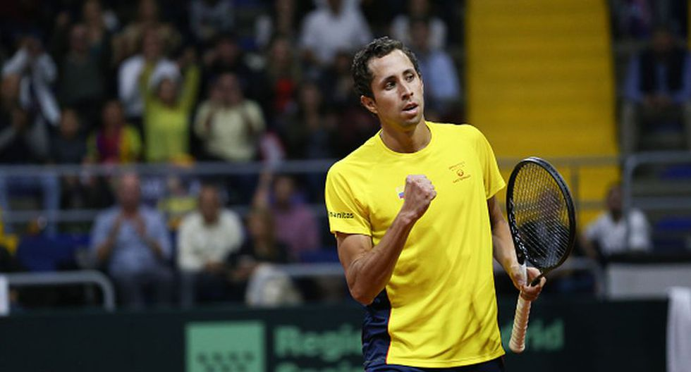 Colombia venció a Argentina y jugará las finales de la Copa Davis 2020. (Getty Images)