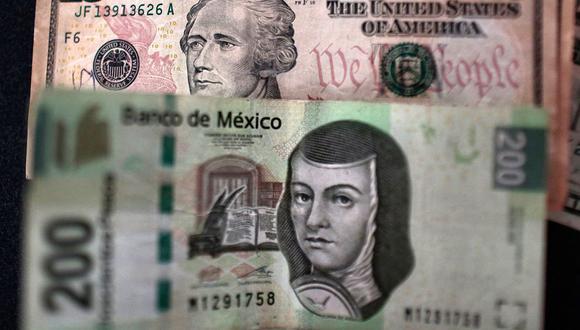 El tipo de cambio abría al alza el miércoles en el mercado mexicano en las primeras horas de este miércoles. (Foto: AFP)