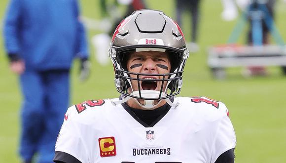 El quarterback de los Buccaners, Tom Brady, consigue su séptimo anillo en el Super Bowl LV al ganar de manera abultada a Kansas City Chiefs. (Foto: AFP)