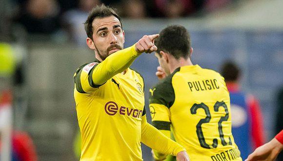 Borussia Dortmund ejecuta la opción de compra por Paco Alcácer. (Getty)
