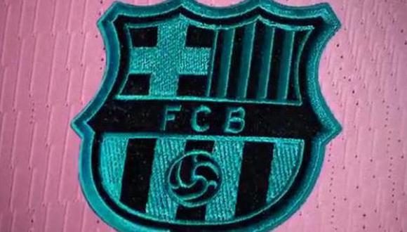 El club azulgrana presentó este lunes su tercera equipación. (Foto: FC Barcelona)