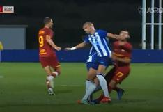 No puede con su genio: el codazo de Pepe a Mkhitaryan que desató bronca en amistoso [VIDEO]