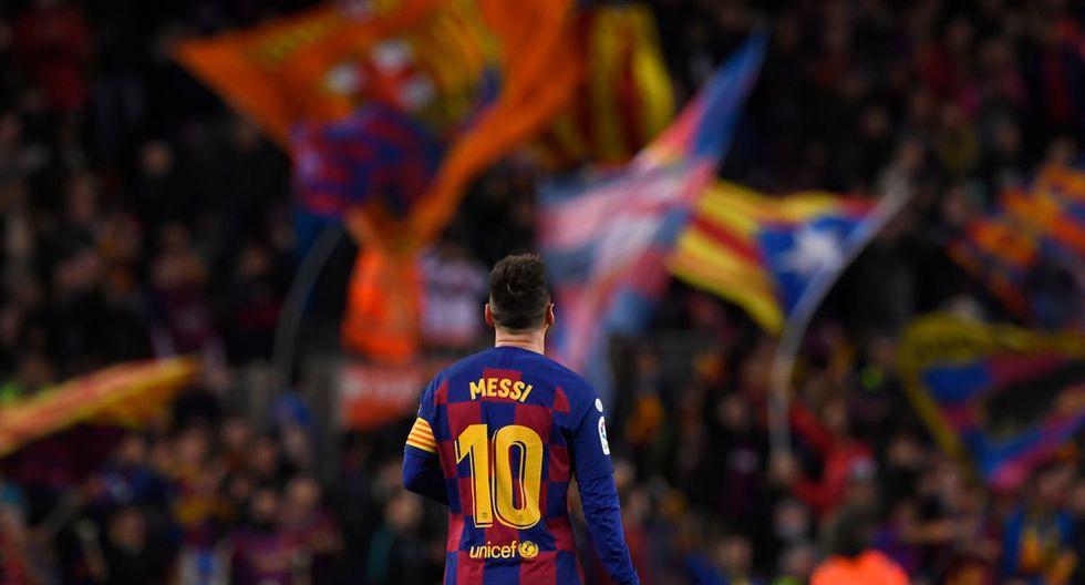 Barcelona presentó su cuarta nueva equipación bajo el lema 'Ho portem dins'. (Foto: AFP)