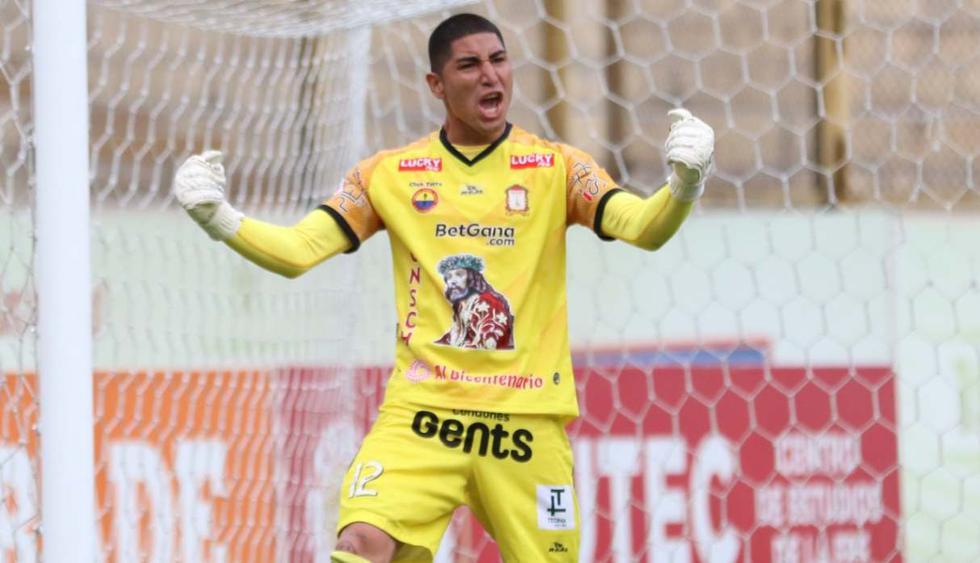 Ángel Zamudio fue la gran figura de Ayacucho para ganar la Fase 2. (Foto: @LigaFutProf)