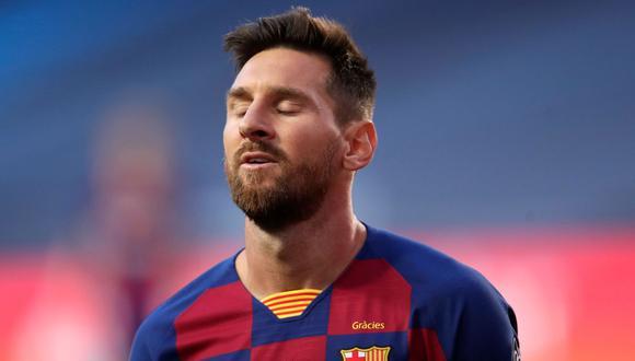Lionel Messi tiene contrato con el FC Barcelona hasta 2021. (Foto: AFP)