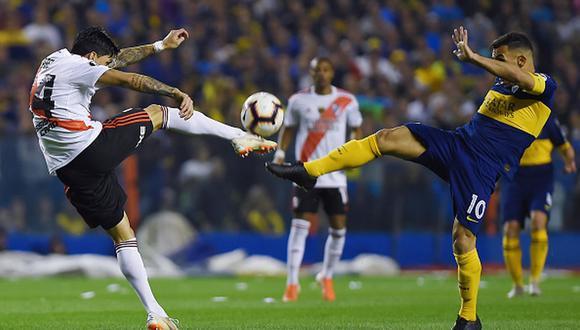 Boca o River deberán esperar al primer partido de la Copa de la Superliga para celebrar título. (Getty Images)