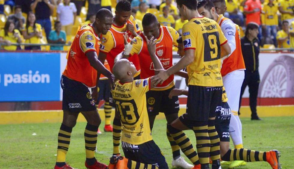 Barcelona SC derrotó a Aucas por la fecha 17 del Clausura de la Serie A de Ecuador.