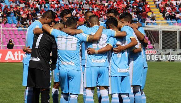 Los jugadores de Deportivo Llacuambamba pasan por momentos de incertidumbre. (GEC)