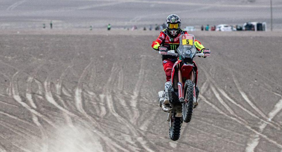 Joan Barreda se despidió del Dakar en el tercer día de competencia. (Foto: Twitter Joan Barreda)