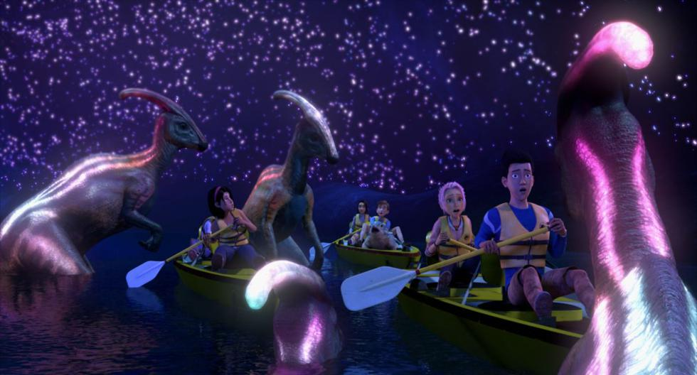 "Netfflix revela la fecha de estreno y el teaser de ""Jurassic World: Campamento Cretácico"". (Foto: Netflix)"