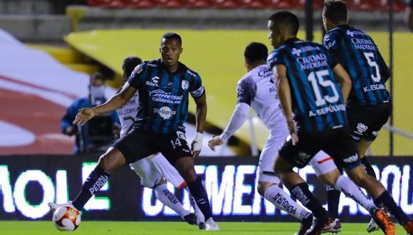 Querétaro alcanzó los seis puntos en la Liga MX tras triunfo ante Pumas. (AFP)
