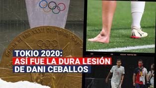 Tokio 2020: así fue la dura lesión de Dani Ceballos en el España vs. Egipto