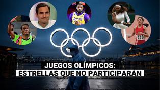 Tokio 2020: conoce a las estrellas que se perderán los Juegos Olímpicos