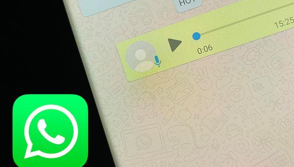 Conoce el interesante truco para escuchar una nota de voz sin que tus amigos se enteren en WhatsApp. (Foto: Depor)