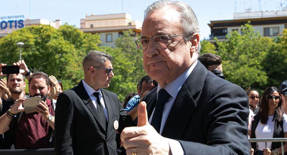 Florentino Pérez dejó 'atado' a otro crack del Lyon además de Mendy (Getty)