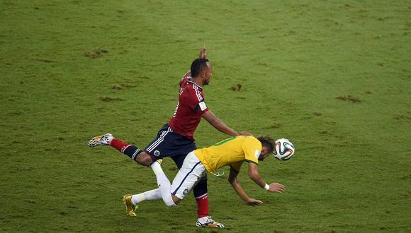 Casi seis años después, el jugador del PSG ya no siente malestar físico por el impacto, pero aún siente el dolor emocional que provocó esa lesión. (Foto: AFP)