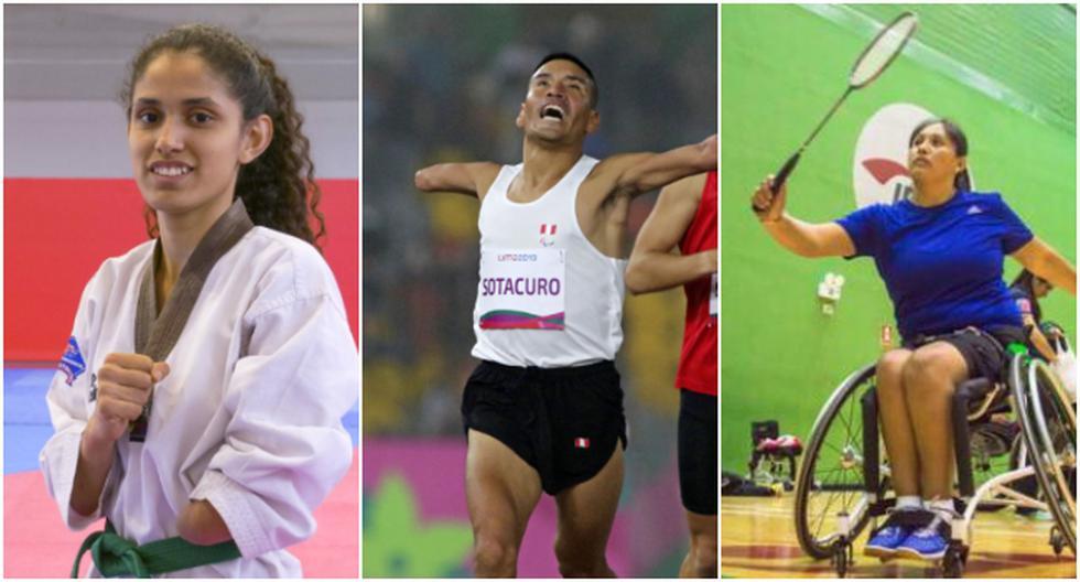 Los 11 paradeportistas peruanos clasificados a los Juegos Paralímpicos Tokio 2020. (Difusión)
