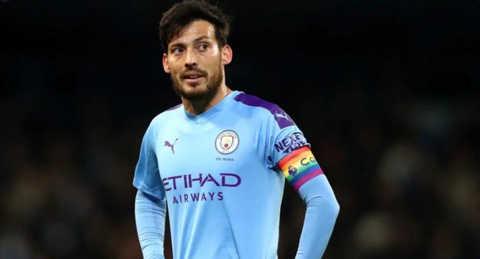 David Silva (Manchester City). (Foto: Agencias)