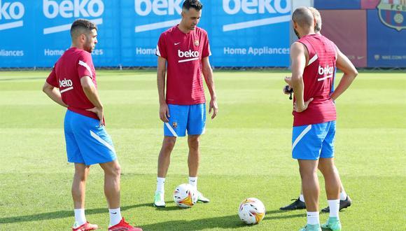 Jordi Alba, Busquets y Braithwaite se suman a lista del 'stage' en Alemania. (Foto: FCB)
