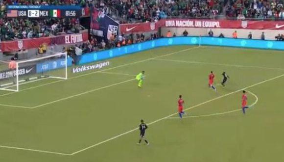Antuna anotó el tercero tras pase del Chucky Lozano por amistoso internacional