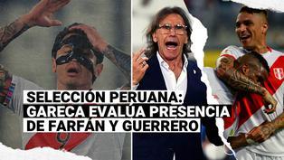 Sin Lapadula: Gareca analizó presencia de Farfán y Guerrero en la selección