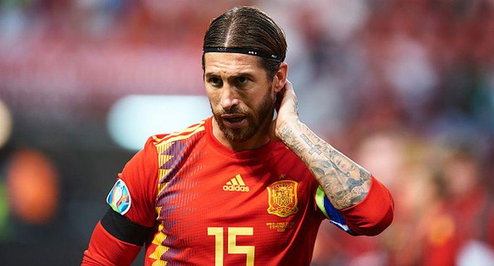 El mensaje de Sergio Ramos tras alcanzar un nuevo récord con España. (Getty Images)