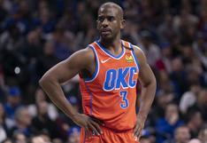 ¡Se mueve la NBA! Chris Paul dejaría Oklahoma City Thunder y llegaría a Phoenix Suns