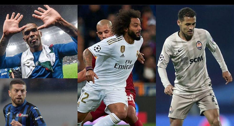 El XI ideal de sudamericanos de la fecha 4 de la Champions League.
