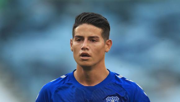 James Rodríguez llegó a Everton en la temporada 2020-2021. (Foto: Reuters)