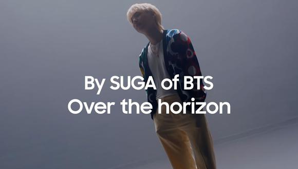 """Conoce cómo descargar y colocar el tono de llamada """"Over de horizon"""" de BTS y Samsung. (Foto: Samsung)"""