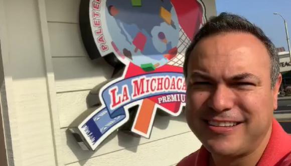 """Actor Sergio Catalán participó en """"La Madrastra"""" y ahora tiene su negocio de helados (Foto: Instragram @sergiocatalan17)"""
